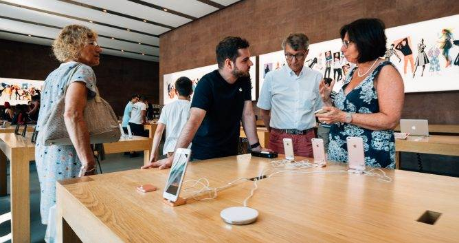 Branding Marketing - Apple Store