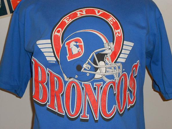 broncos, denver, nfl, football, t-shirts, screenprinting
