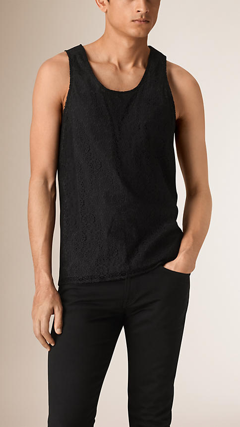 Lace vest by Burberry