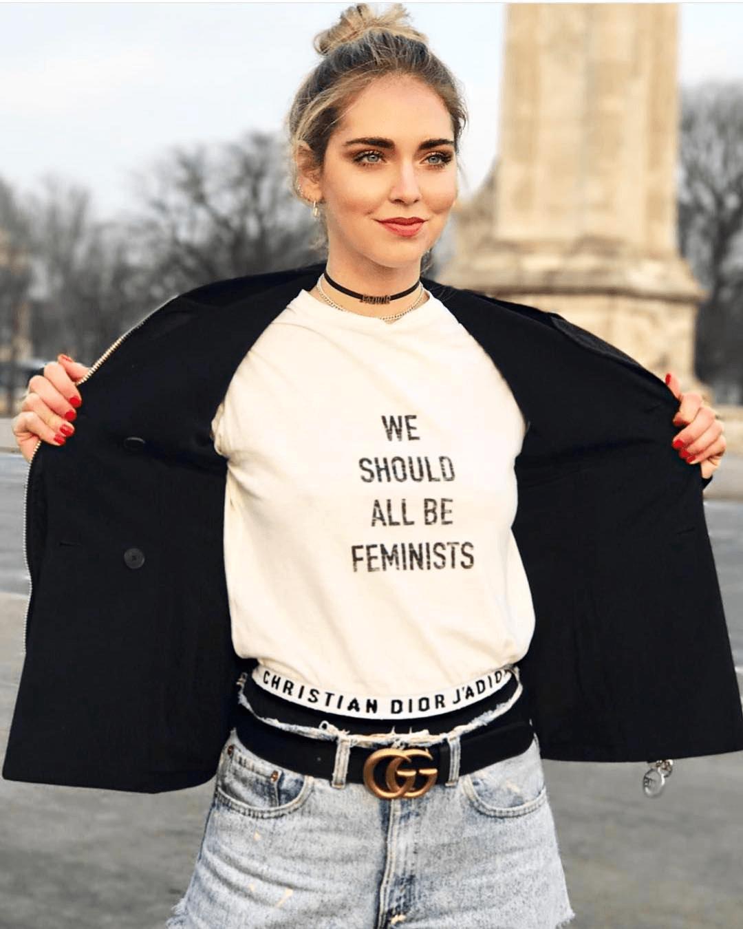 camisetas molonas, chiara ferragni