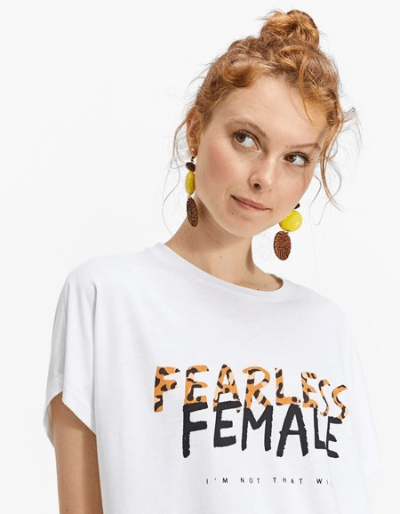 camisetas molonas, stradivarius