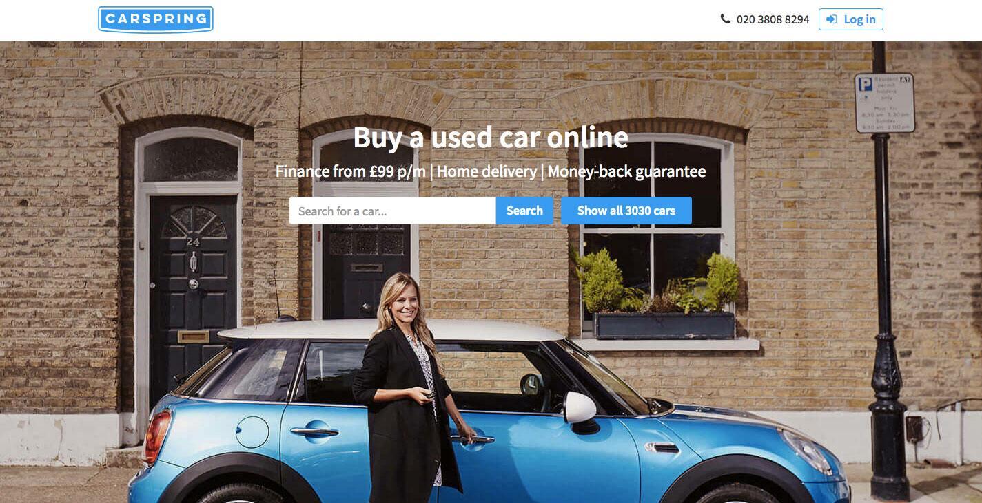 carspring - british start-ups