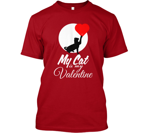 T-shirt printing and design ideas for a British Valentine\'s Day