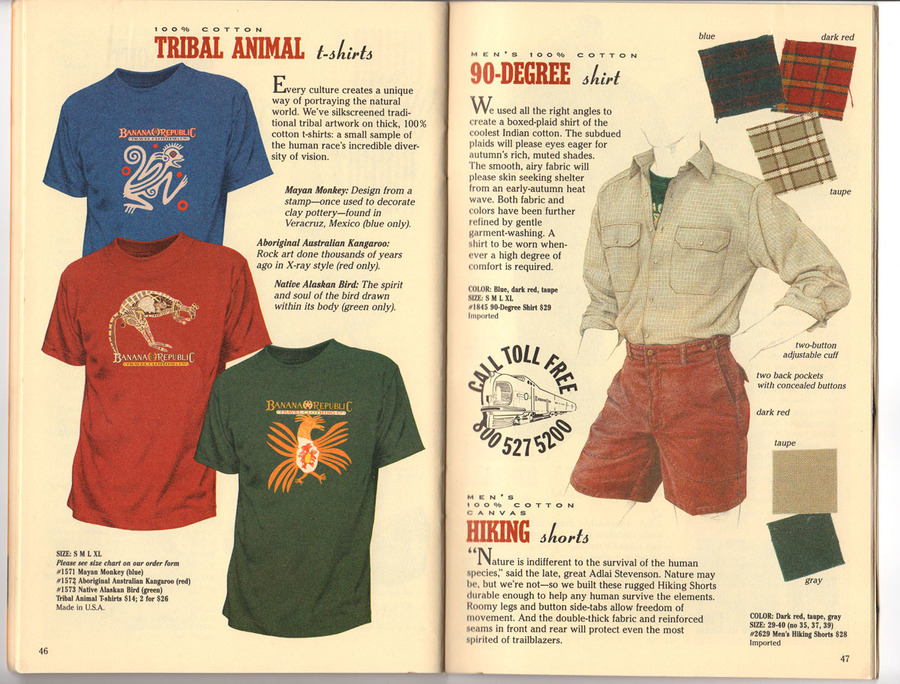 catalogues for t-shirt stores, catalogue design