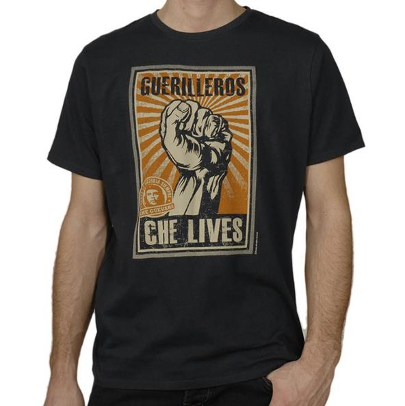 che guevara, che guevara t-shirt, che guevara lives t-shirt, revolution t-shirt, t-shirt