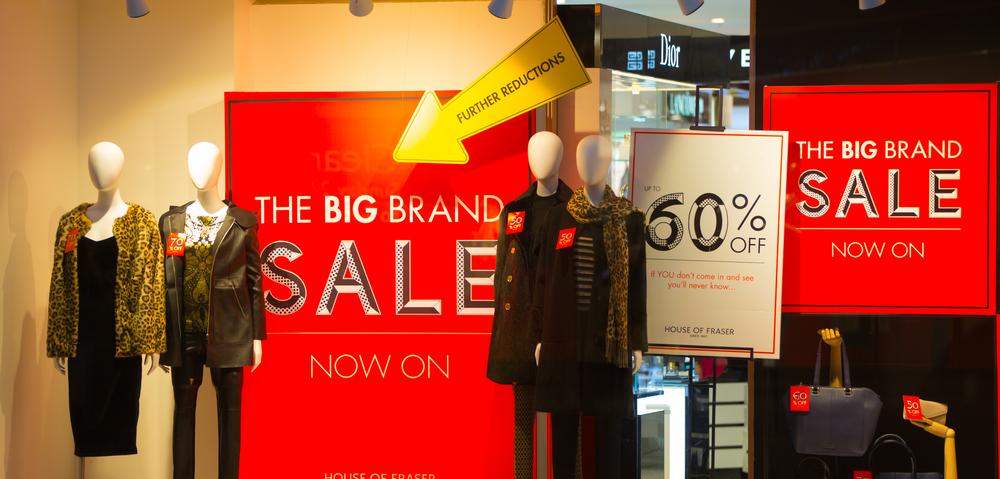 Christmas Marketing 2016 Oxford Street Sale