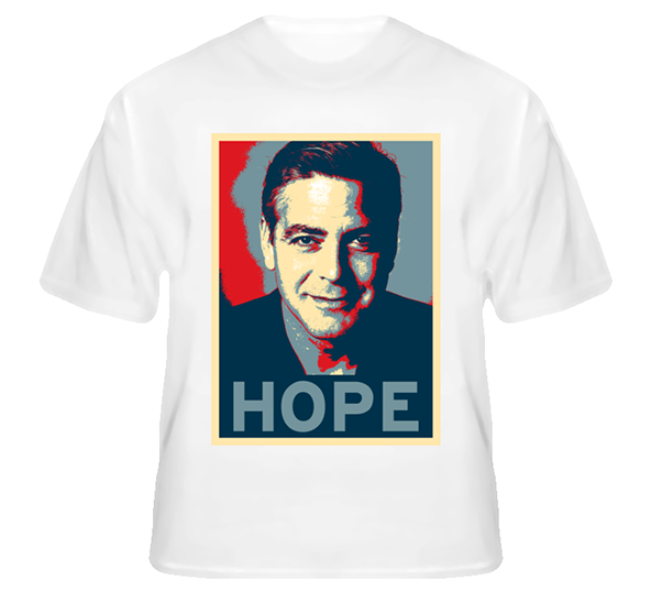 george clooney, george clooney t-shirt,