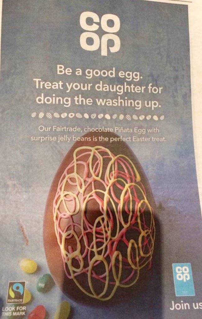 co-op, marketing fail, easter egg