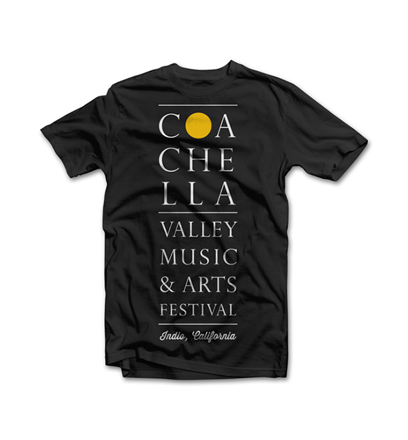 coachella, coachella t-shirt, best events of 2014, best events t-shirt