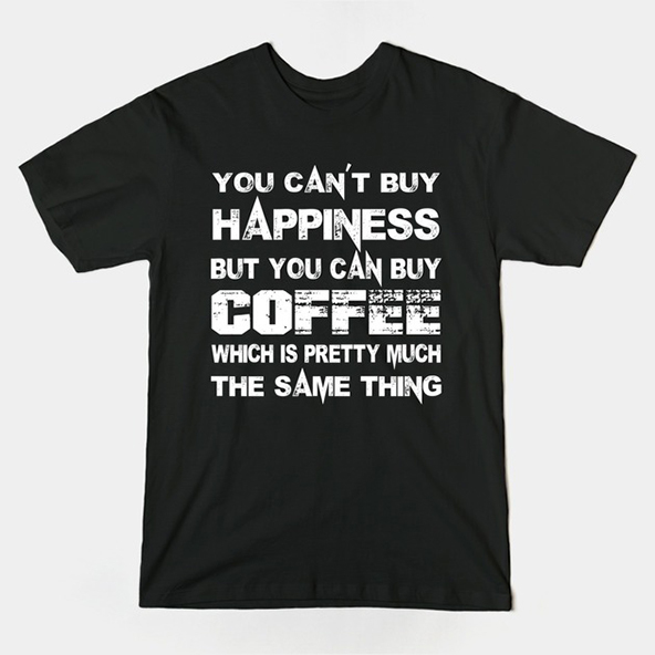 coffee happiness, coffee happiness t-shirt, coffee t-shirt, london coffee festival, coffee shirts