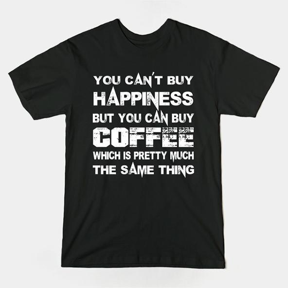 coffee happiness, coffee happiness t-shirt, coffee t-shirt, london coffee festival, coffee shirts