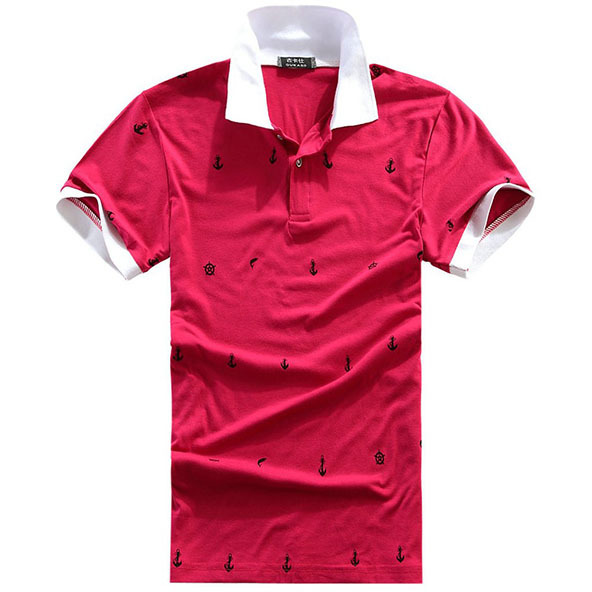 polo shirt, polo shirt printing, printed polo shirt, red polo shirt,