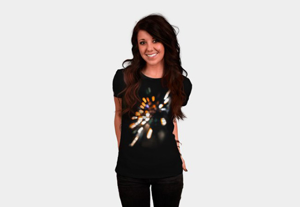 crazy lights, direct to garment, t-shirt, crazy lights t-shirt
