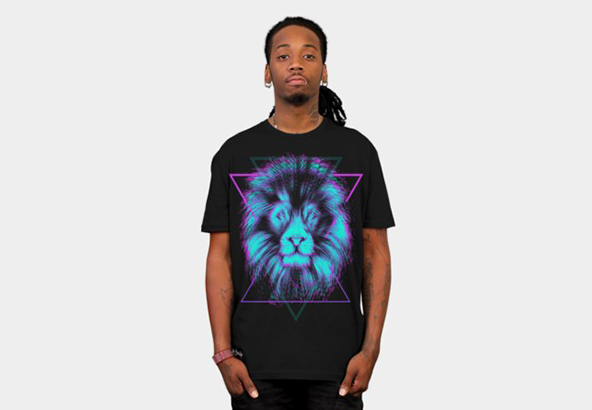 lion t-shirt, colours, lion, t-shirt