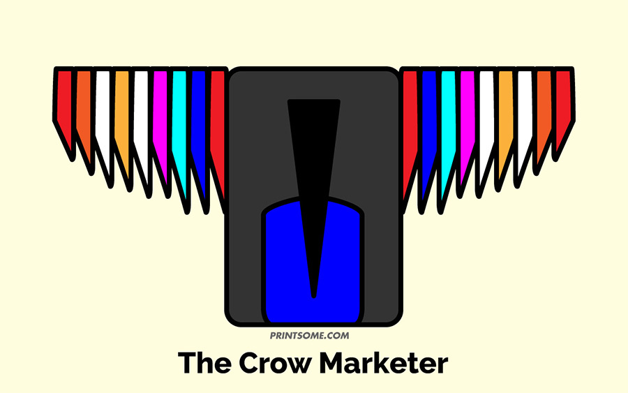 crow marketer totem