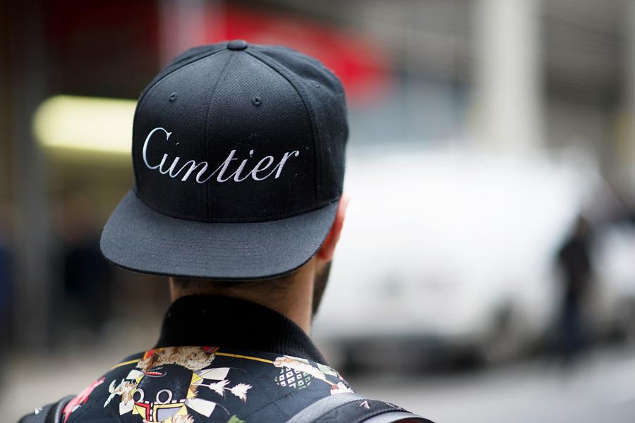 "Cartier parody ""Cuntier"" by Fahad Al-Hunaif"