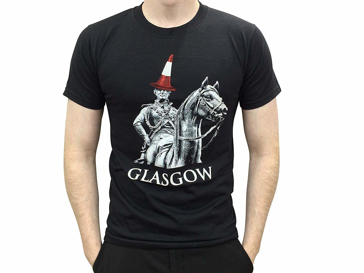 custom t-shirts uk, duke wellington, black t-shirt