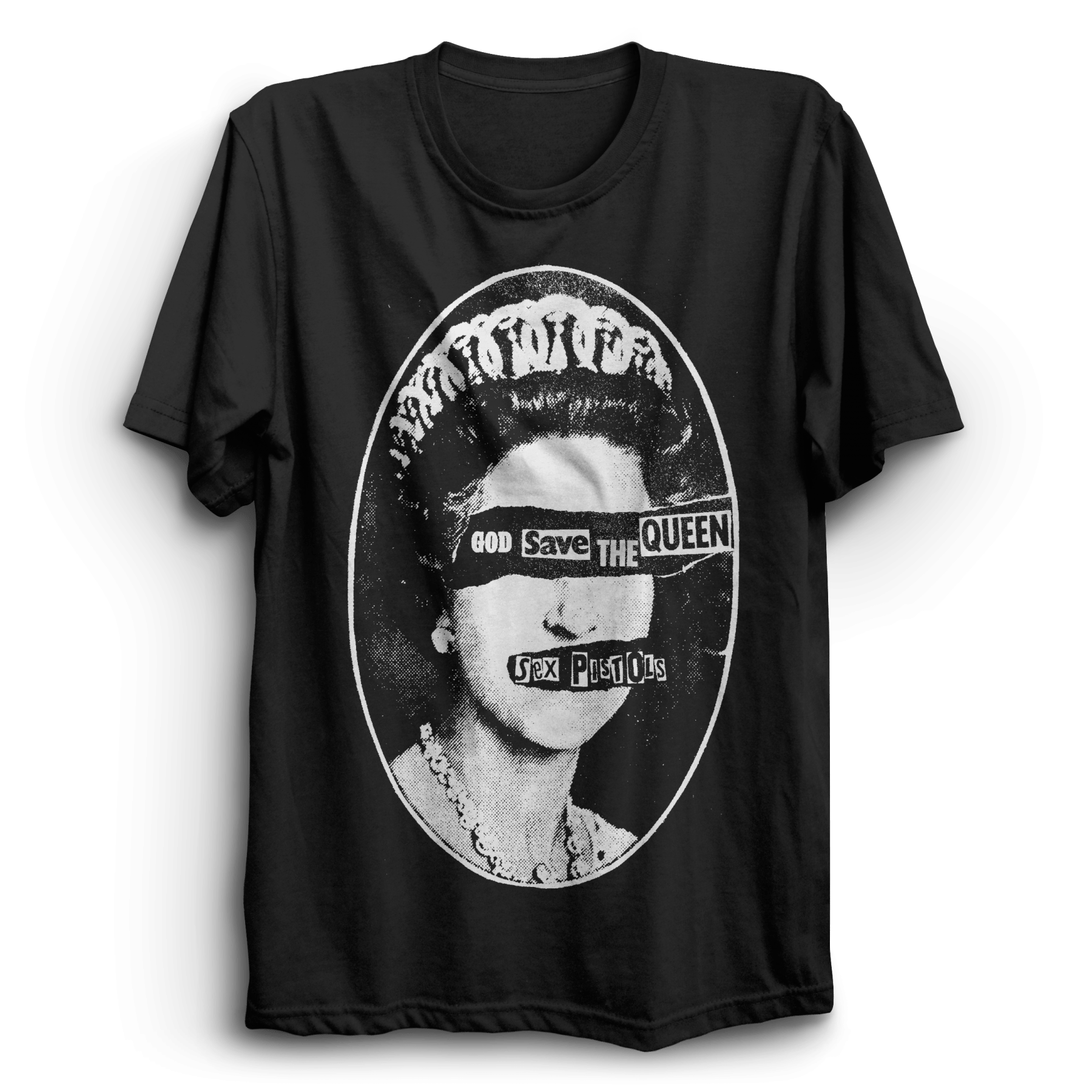 custom t-shirts uk, sex pistols, god save the queen