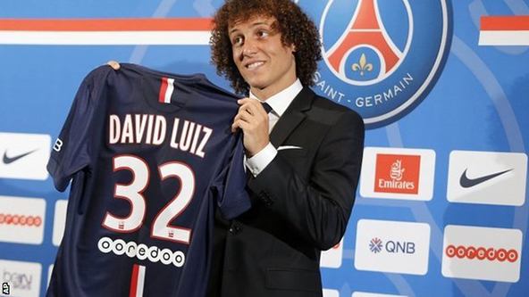 david luiz, psg, football, transfer