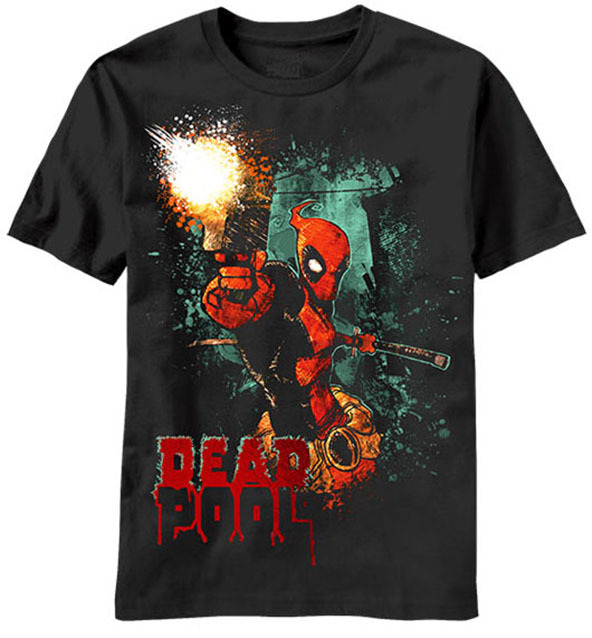 deadpool, deadpool t-shirt, superheroes, superhero t-shirts