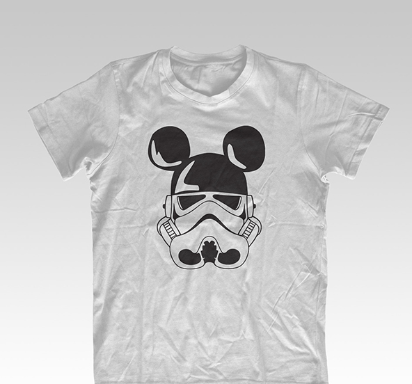 disney, disney t-shirt, stormtrooper t-shirt, unofficial t-shirt