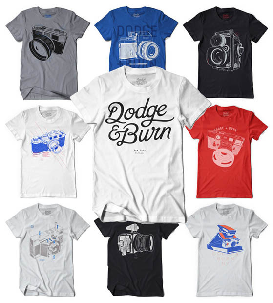 T shirt design inspiration printed t shirts for photographers for T shirt printing and distribution