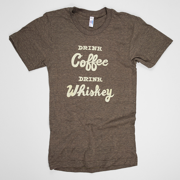 drink coffee drink whiskey t-shirt, drink coffee t-shirt, drink whiskey t-shirt, coffee t-shirt, london coffee festival, coffee shirts