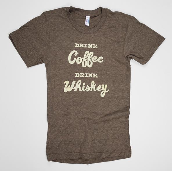 drink coffee drink whiskey t-shirt, drink coffee t-shirt, drink whiskey t-shirt, coffee t-shirt, london coffee festival, coffee shirts