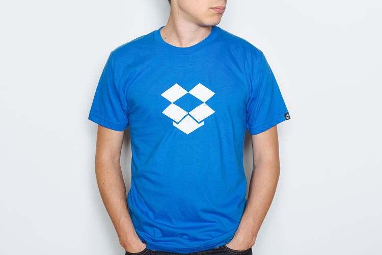 """Dropbox """"Startup T-shirts"""""""