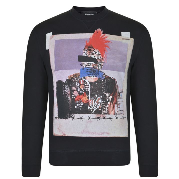 Printed jumper by DSquared2