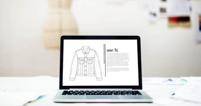e-commerce, email marketing, laptop, fashion designer