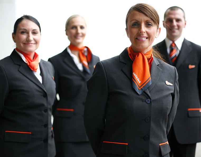 easyjet uniforms, corporate clothing
