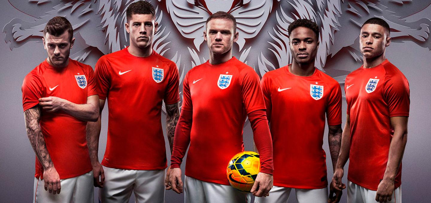 5faf965d9ca 153 years of the England Football kit  From the beginnings untill today