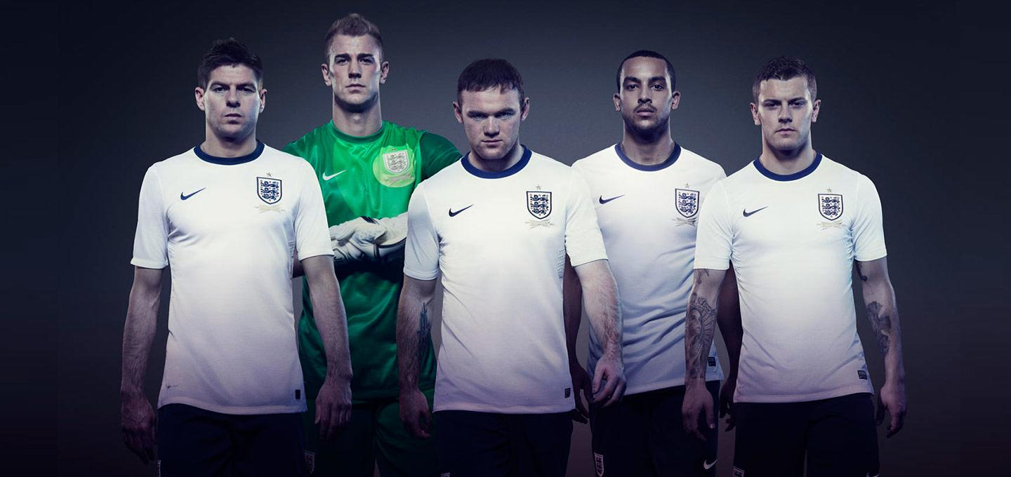 153 Years Of The England Football Shirt The Modern History