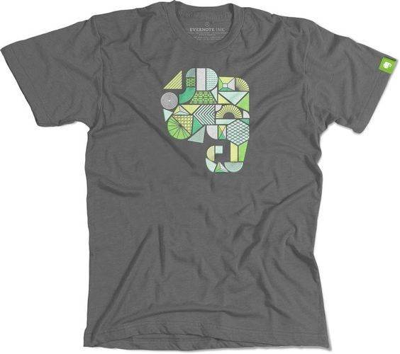 "Evernote ""Start-up T-shirts"""