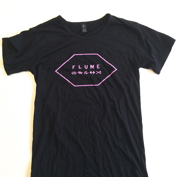 flume t-shirt, flume, lovebox, lovebox t-shirt,
