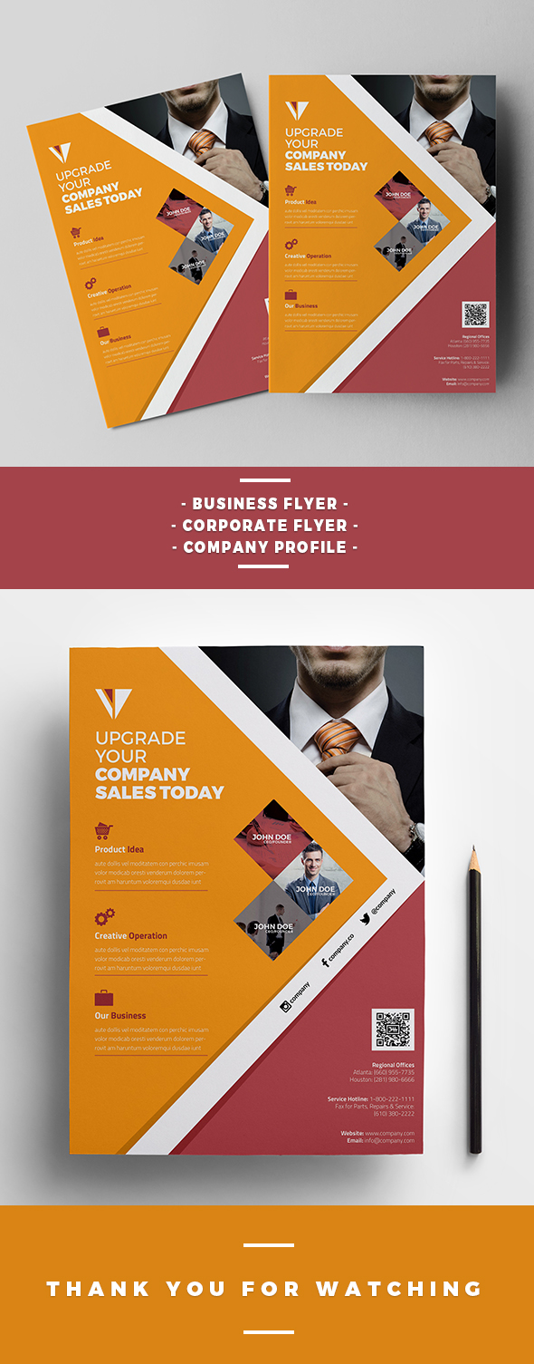Awesome Flyer Templates For Your Next Event - Event brochure template