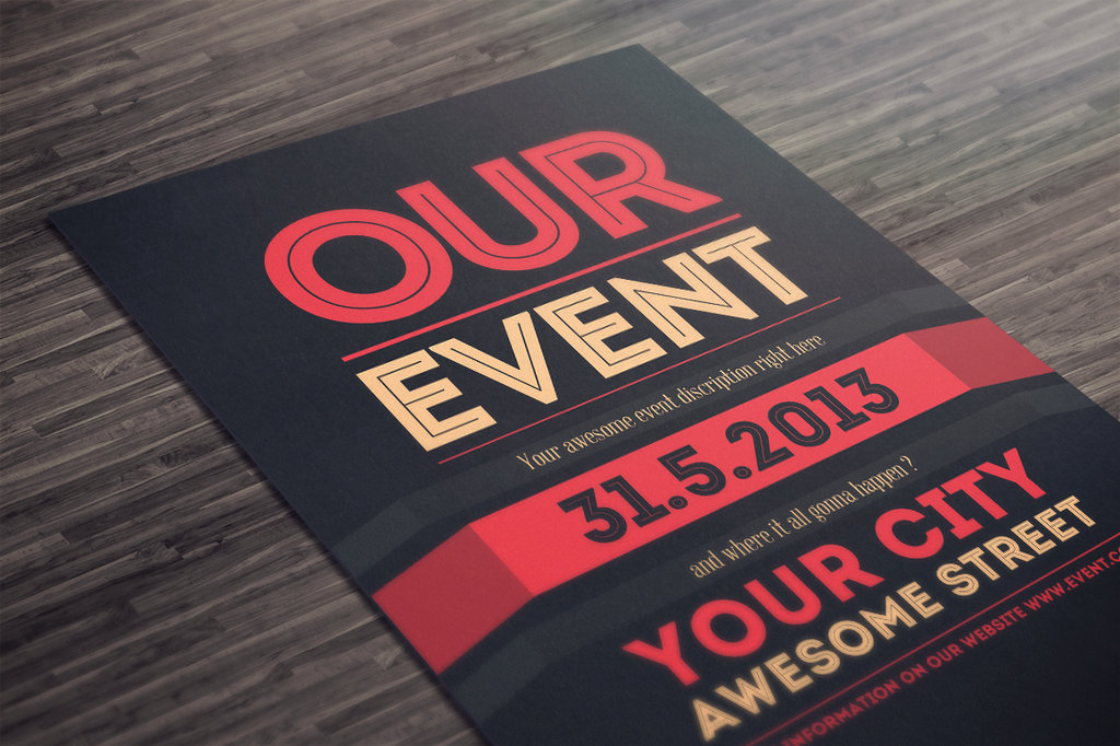 Bien connu 50 Awesome Flyer Templates for Your Next Event DB04
