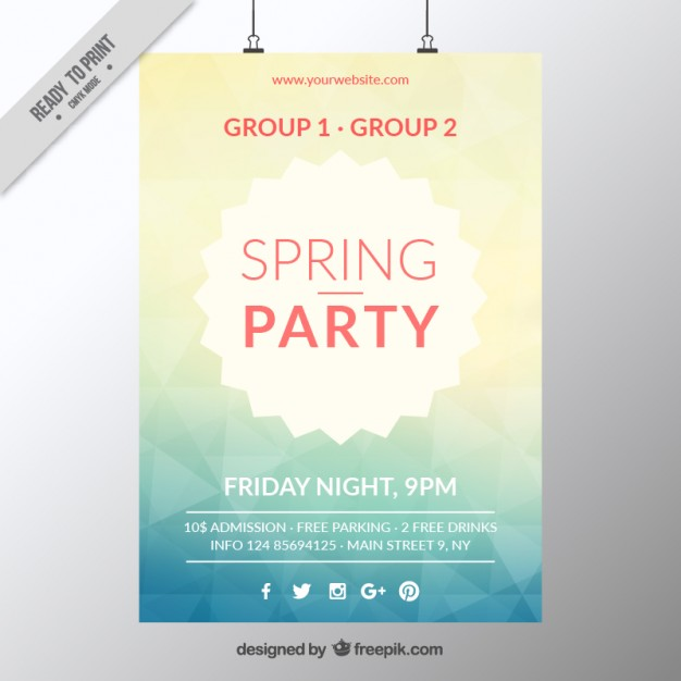 Awesome Flyer Templates For Your Next Event - Free meet and greet flyer template