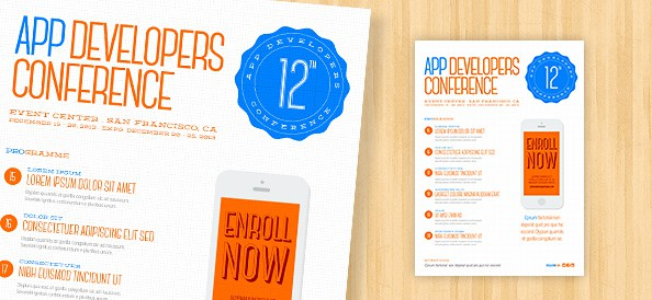 Awesome Flyer Templates For Your Next Event - Promotional brochure template