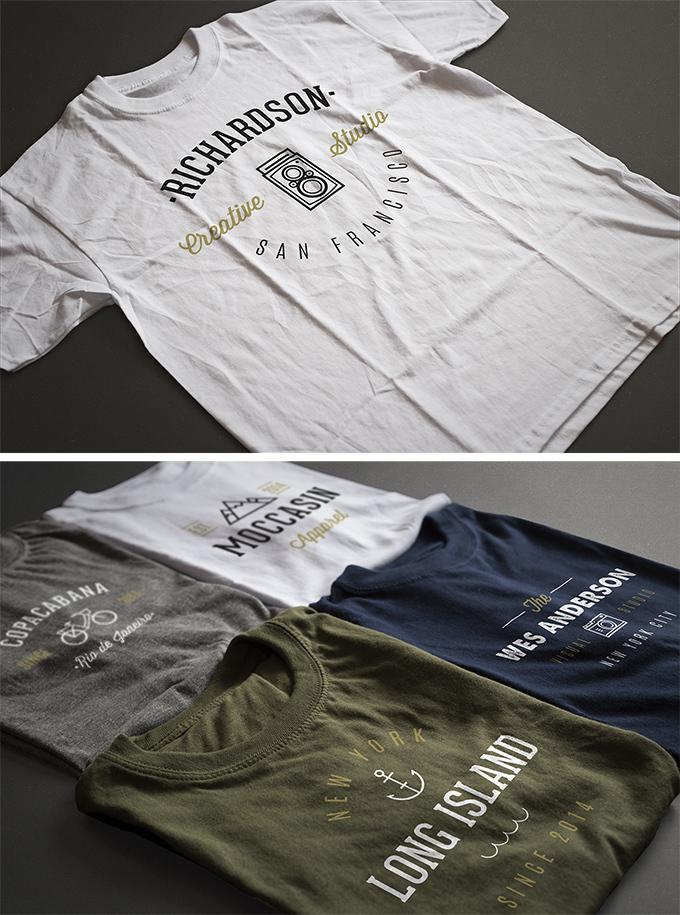 freebie t-shirt template, free t-shirt mockup, free t-shirt design