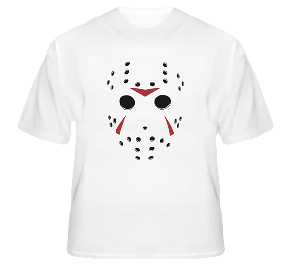 Friday the 13th, friday the 13th t-shirt, jason, jason t-shirt, hockey mask t-shirt