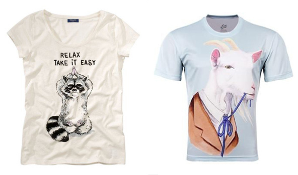 From our office in London: 15 Killer T-shirt Design Combinations