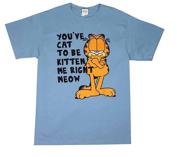 garfield, garfield t-shirt, comic book t-shirt, comic book t-shirts, comic books, t-shirts