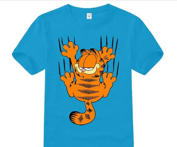 garfield, garfield t-shirt, comic book t-shirt, comic book t-shirts, comic books, t-shirts