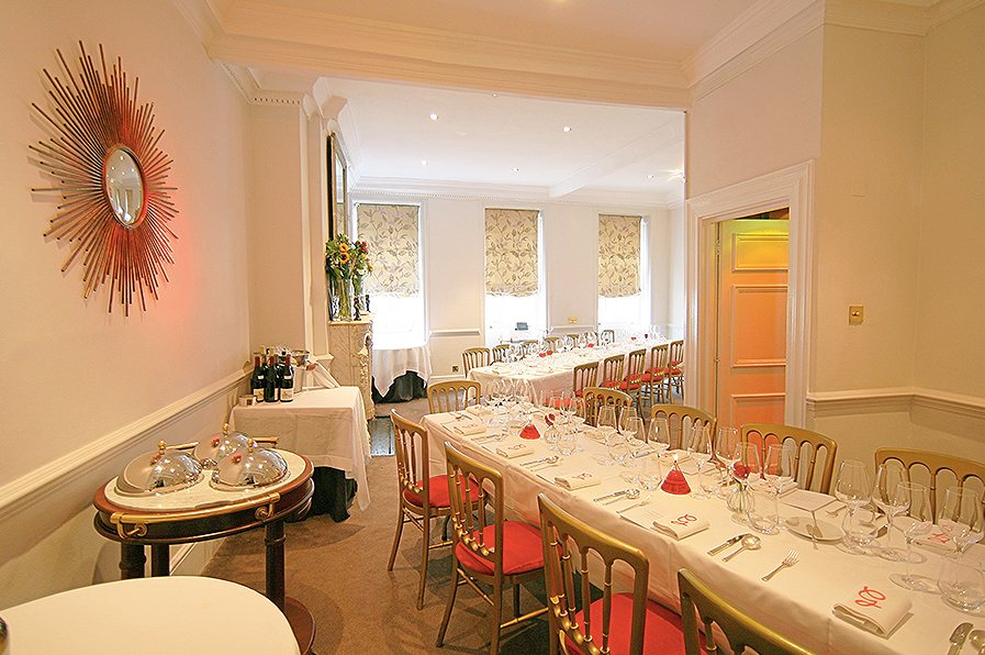 gauthier soho, private dining rooms london