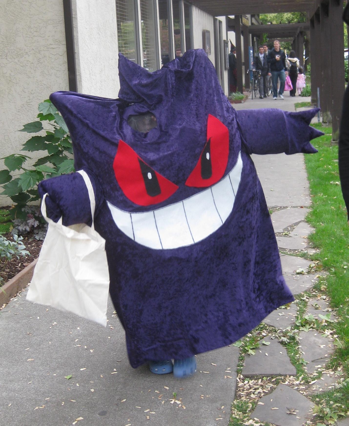 gengar halloween costume