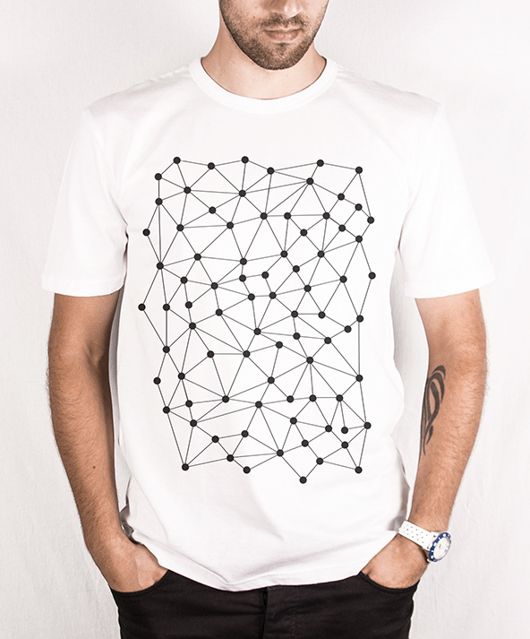 geometric dots, geometric dots t-shirt, geometric patterns, geometric t-shirts