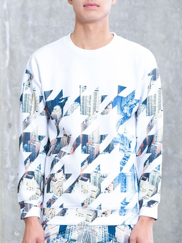 geometric skyline, geometric skyline t-shirt, geometric patterns, geometric t-shirts