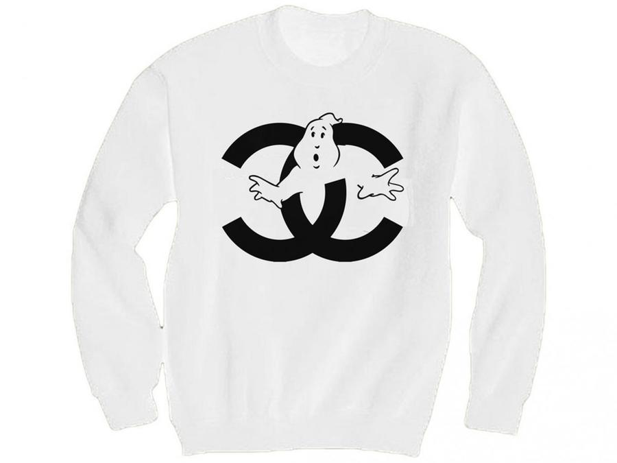 "Chanel parody ""Ghostbusters Chanel"" by What about Yves. This particular model was actually the motive of a lawsuit by the luxury label against the streetwear designer."